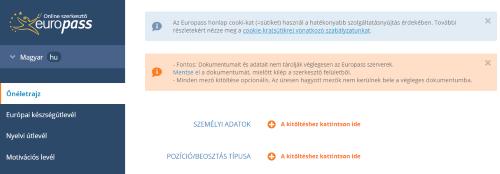 europass önéletrajz készítő program 5 Legjobb Ingyenes Önéletrajzkészítő Weboldal Németországi  europass önéletrajz készítő program