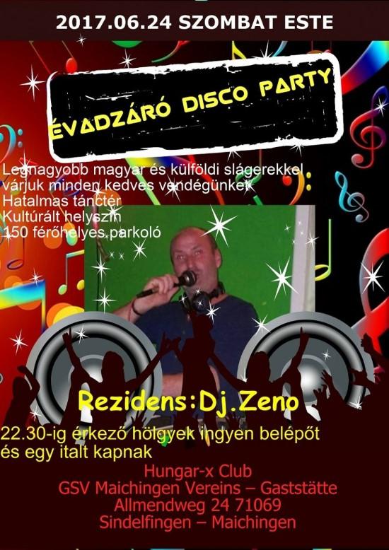 Hatalmas évadzáró Stuttgati Party