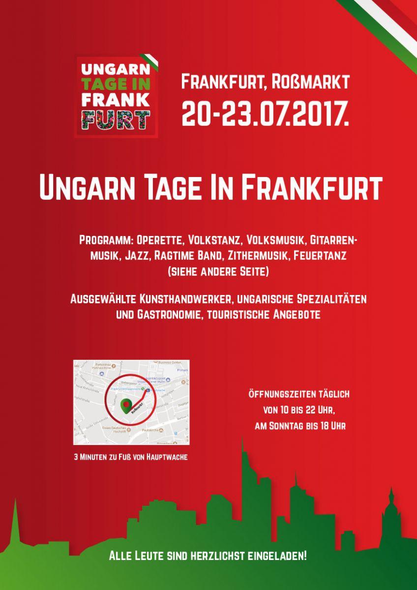 Íme a Frankfurti Magyar Kulturális Napok plakátja