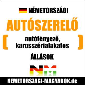 Németországi autószerelő munkák. Autóoszerelő állások Németországban