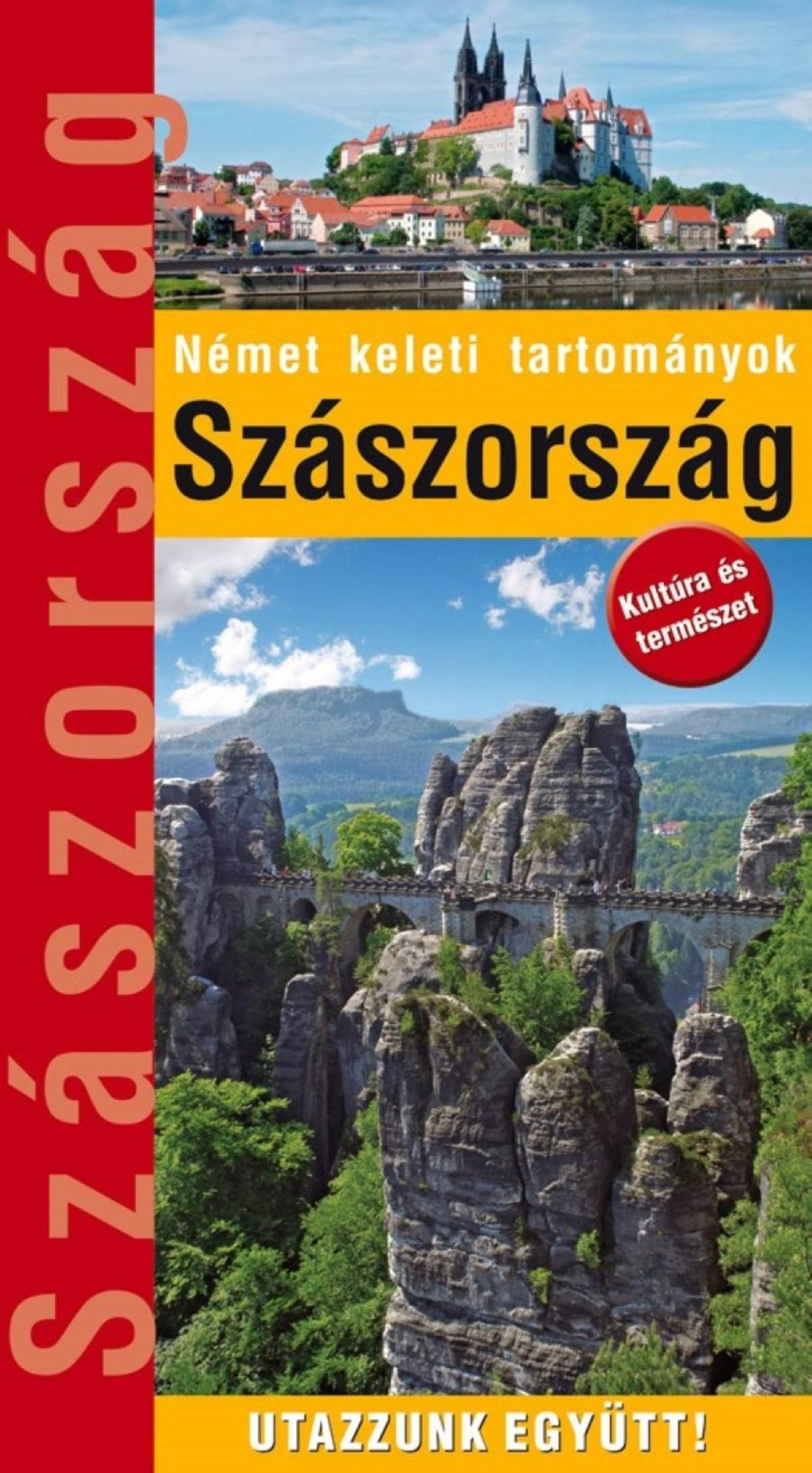 Szászország útikönyv borítója