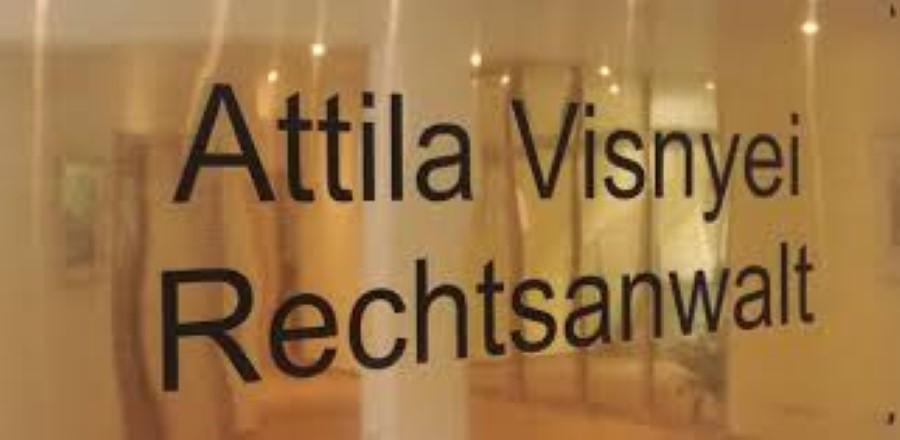 Visnyei Attila, magyar ügyvéd Münchenben